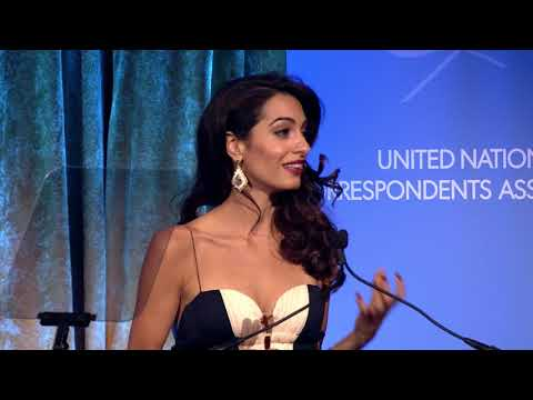 Amal Clooney -  2018 UNCA Global Citizen of the Year