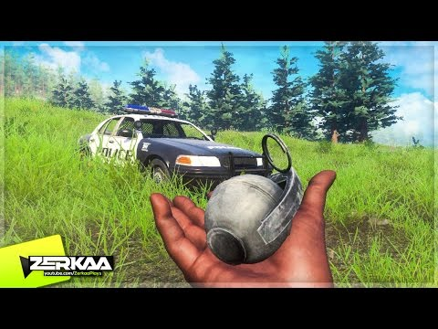 WINNING WITH A GRENADE? (H1Z1 King of the Kill)