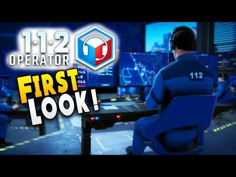 FIRST LOOK : First Day As A 112 Operator And This Happened - 112 Operator Gameplay - Alpha