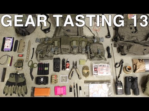 Gear Tasting 13: Muster Loadout, Water Bottles and Grappling