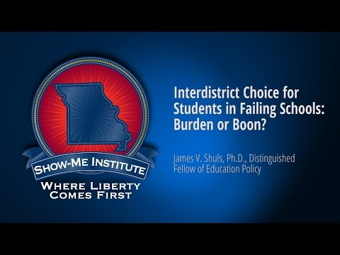 Interdistrict Choice for Students in Failing Schools: Burden or Boon?