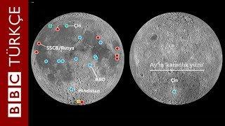 Çin Ay'ın karanlık yüzüne indi: İlk görüntüler