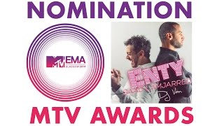 Saad Lamjarred & Dj Van - Nomination (MTV Awards) | سعد لمجرد و ديجي فان