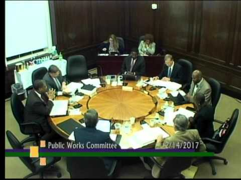 Public Works Committee February 2017