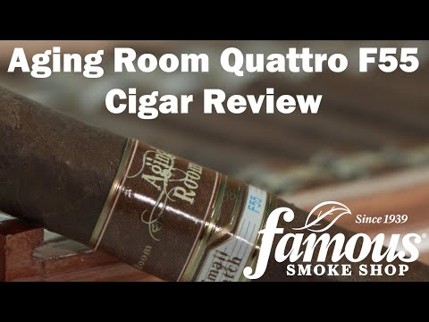 Aging Room Quattro F55 Cigars Review - Famous Smoke Shop