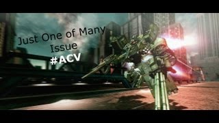 Armored Core V - One Problem with ACV (JP) [#ACV]