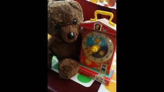 Fisher Price music box Teaching clock by MssMoonlight