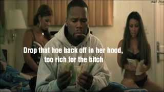 50 Cent - Too Rich LYRICS VIDEO