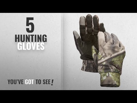 Top 10 Hunting Gloves [2018]: North Mountain Gear Mens Lightweight Camouflage Gloves With Touch