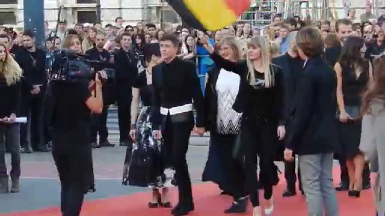 red carpet eurovision 2015 lo c nottet belgium youtube. Black Bedroom Furniture Sets. Home Design Ideas