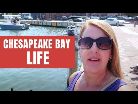 Touring The Chesapeake Bay & Eastern Shore Of Maryland [Full Time RV Living]