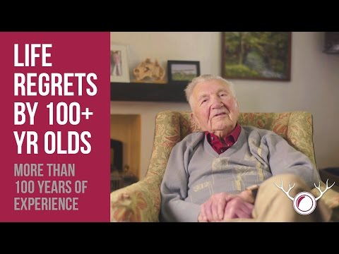 Robin Rock - The most important things in life? These 100 year old's have an opinion.