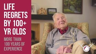 Life Lessons From 100-Year-Olds(We asked three centenarians what their most valuable life lessons were, and also their regrets. Click here to subscribe to LifeHunters: http://bit.ly/2gFMyln ..., 2016-12-23T13:39:50.000Z)