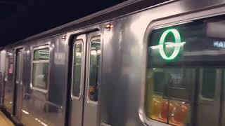 R62A #1655 leaving 125th Street [w/ dead motor indicator light on]