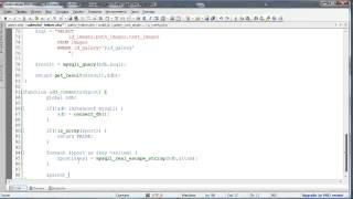 видео Работа с БД в Drupal 7 - урок 4 - Динамические запросы (SELECT)