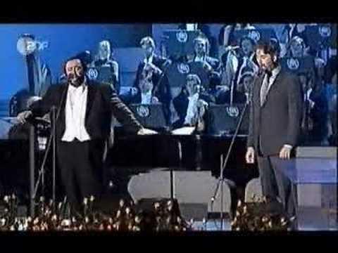 Medley - Andrea Bocelli & Luciano Pavarotti