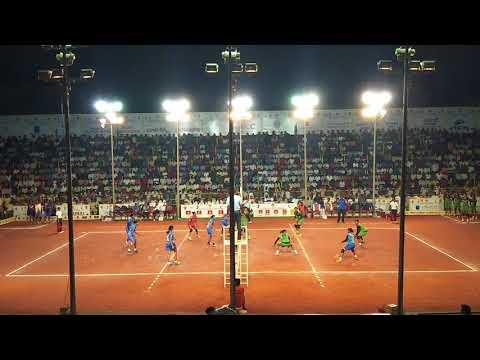 Guntur national level  ladies volleyball match