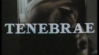 Tenebrae (1982) Palace Explosive Home Video Australia Trailer