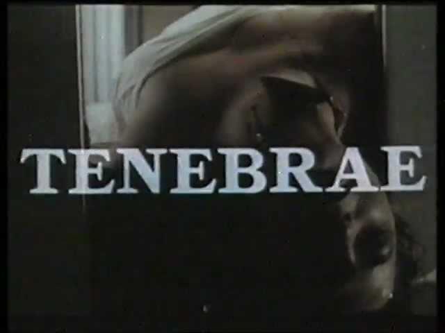 Tenebrae (1982) Palace Explosive Home Video Australia Trailer