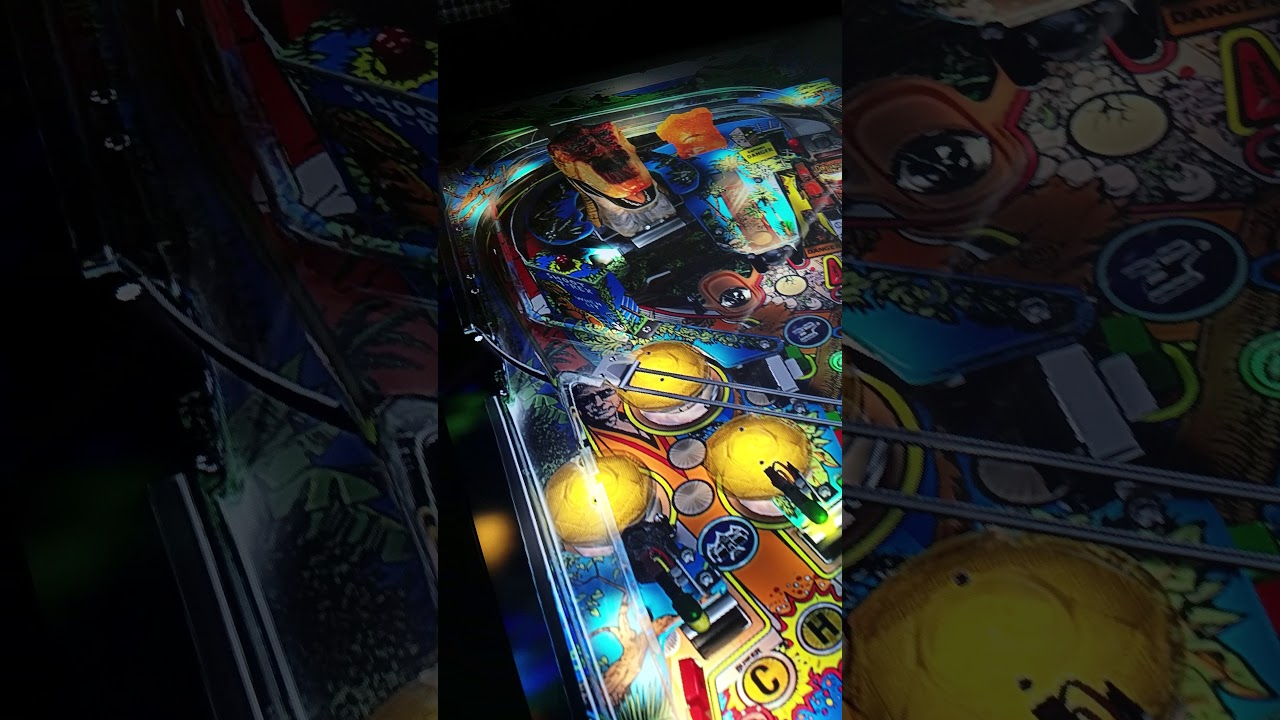 Jurassic Park Visual Pinball VPX 10 4 running in my cabinet by Marcdaddy2112