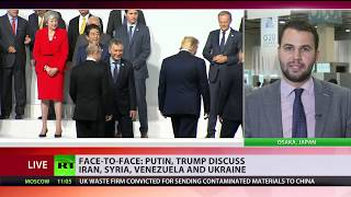 G20: Putin and Tump talk through joint concerns