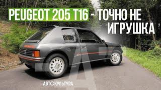 Peugeot 205 T16.  Недостижимая Группа Б | Тест-драйвы Давида Чирони