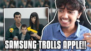 IPHONE V/S SAMSUNG TROLLS!!