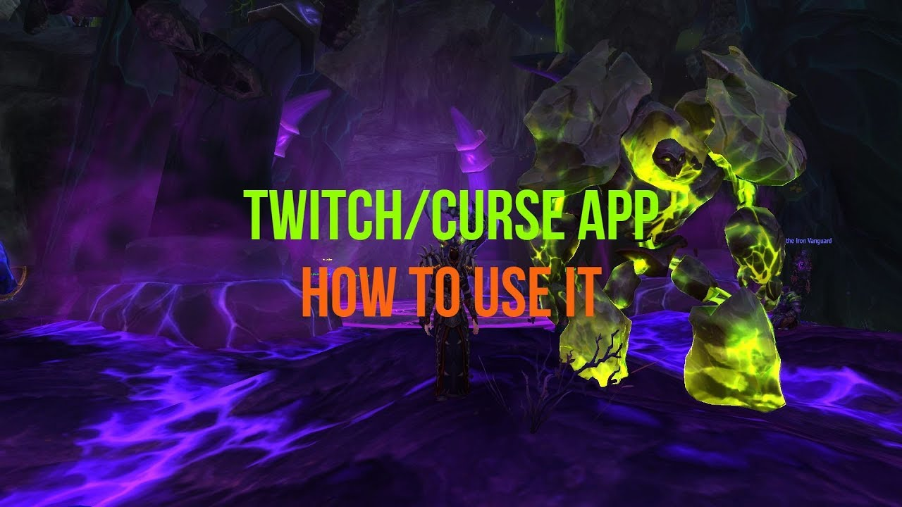Easy Install World of Warcraft Addons with Twitch and Curse 2017