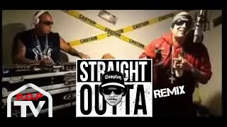 P.O.P - Straight Outta Compton (South Bronx Freestyle) feat. DJ Paulie Montana (Live In The Studio)