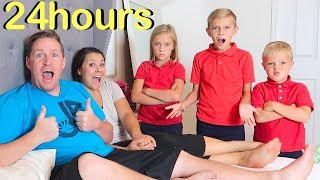 Kids in Charge for 24 HOURS Parents Won't Get Out of Bed!