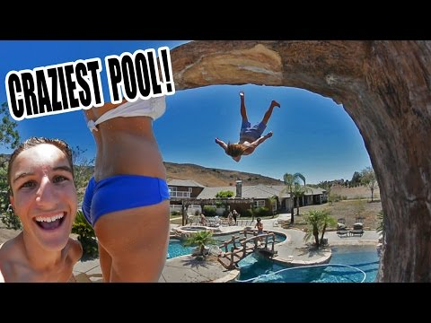 INSANE MANSION POOL PARTY!