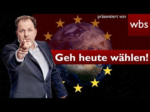 Europawahl Last Minute-Special: Geht heute wählen!    Rechtsanwalt Christian Solmecke
