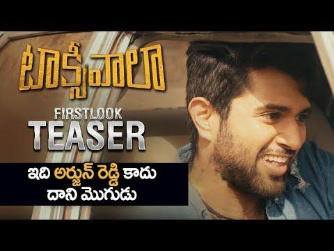 Vijay Devarakonda S Taxiwaala Teaser Taxiwala Movie First Look Teaser Taxiwala Telugu Movie Youtube
