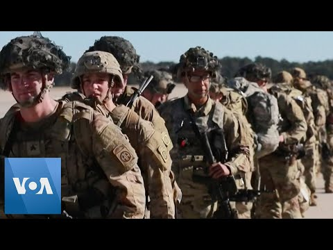 US Paratroopers Deploy To Embassy In Iraq