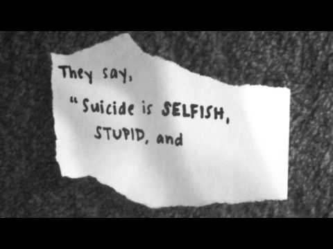 """My Poem (Suicide Awareness - No More Asking """"Why"""")"""
