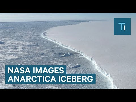 New NASA Images Of Larsen C Iceberg A-68 In Antarctica