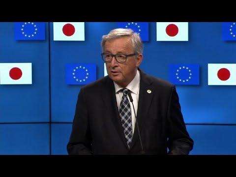 EU, Japan agree 'in principle' trade deal: Juncker
