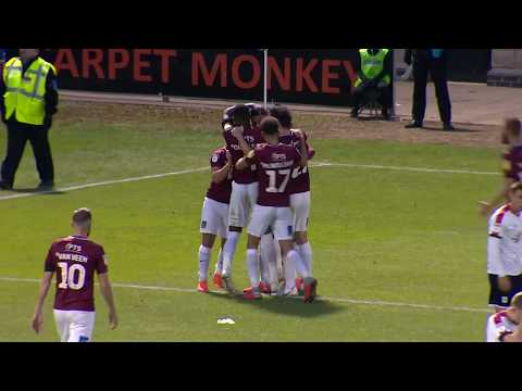 HIGHLIGHTS: Northampton Town 2 Crewe Alexandra 0