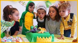 Yankı'nın Doğum Günündeyiz, Doğum Gününü Kutladık, Pasta Üfledik