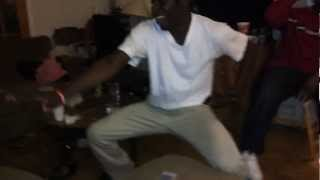 Negus dancing to Lil Rick Guh Down