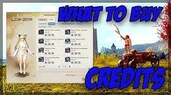 Archeage Unchained: What to buy with credits?