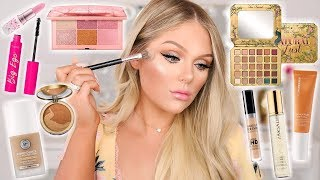 Download TESTING NEW OVERHYPED MAKEUP | FULL FACE FIRST IMPRESSIONS Mp3 and Videos
