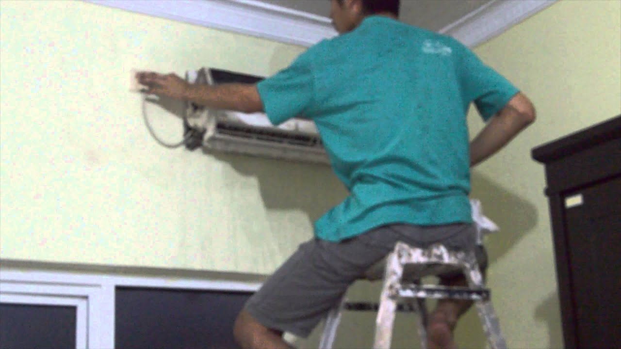 HOW TO CLEAN MINI SPLIT AC INDOOR UNIT   #2F828B