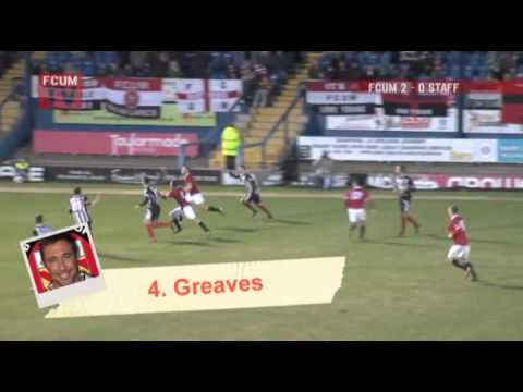 FC United best goals of the season 2012/13