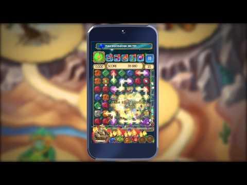Montezuma Blitz для Андроида - Официальное видео