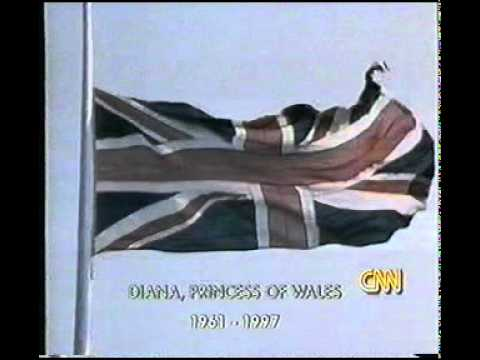 Princess Diana - Breaking News of her Death, 31 August 1997 - CNN and BBC 0700 GMT