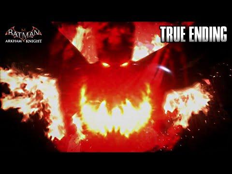 BATMAN ARKHAM KNIGHT TRUE ENDING | Initiate Full Knightfall Protocol