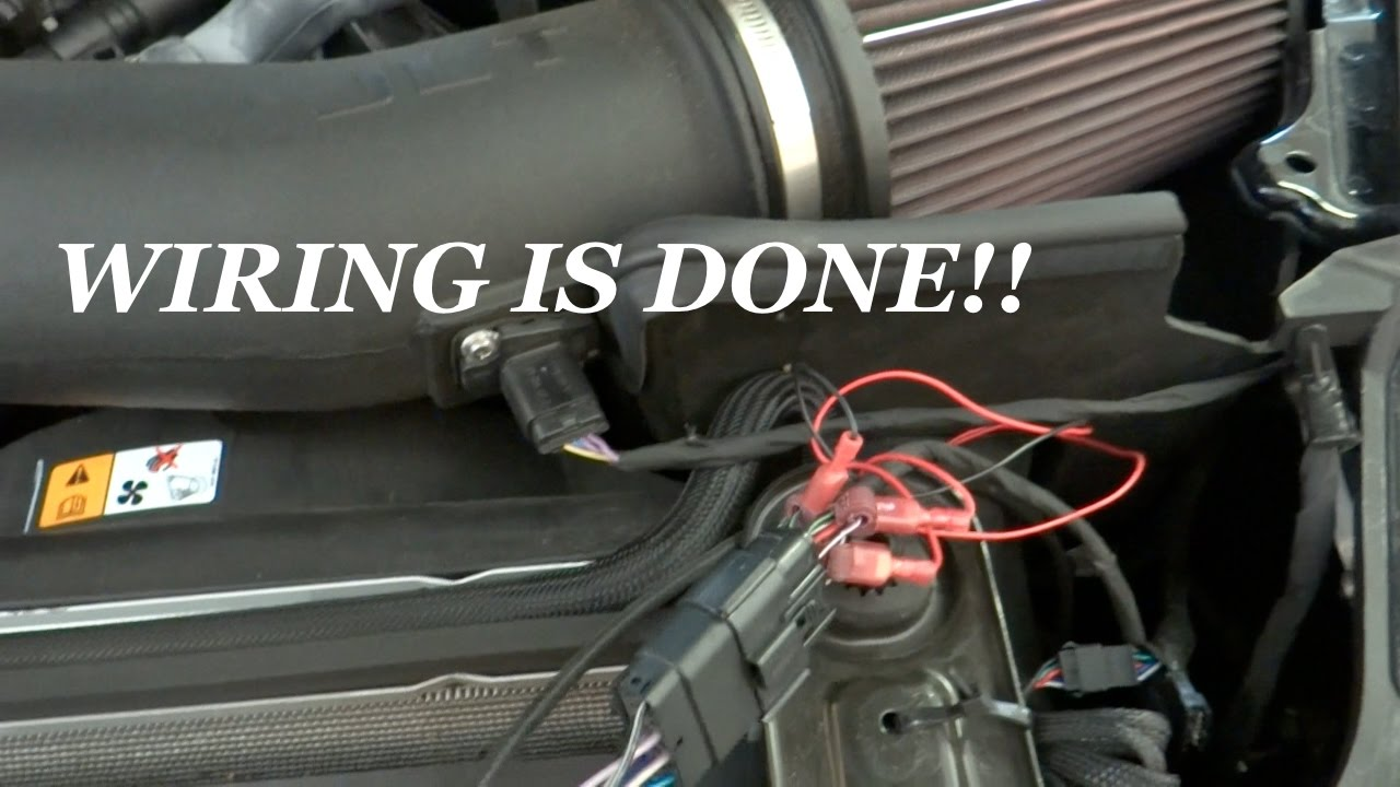 Diode Dynamics Led Drl Boards 2015 2017 Mustang Wiring Update Wire Diagram In Car