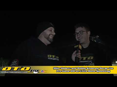Recapping Pre-Game 100 at Utica-Rome Speedway 10/8/19