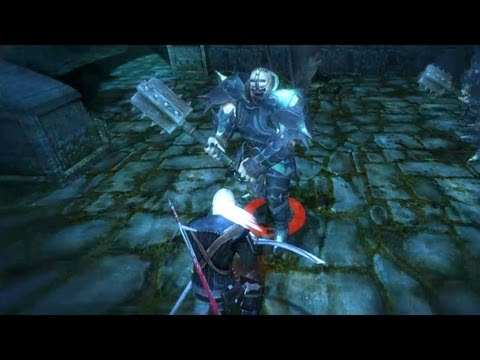 Geralt Kills Greater Brothers in Vizima (Witcher 1 | Super Human Mutants Fight)